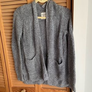 Abercrombie Knit grey cardigan
